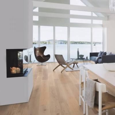 Podłoga drewniana Dąb Andante White