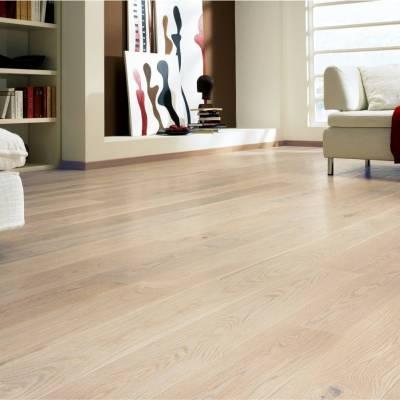 Podłoga drewniana Dąb Europejski Biały Szczotkowany Tango