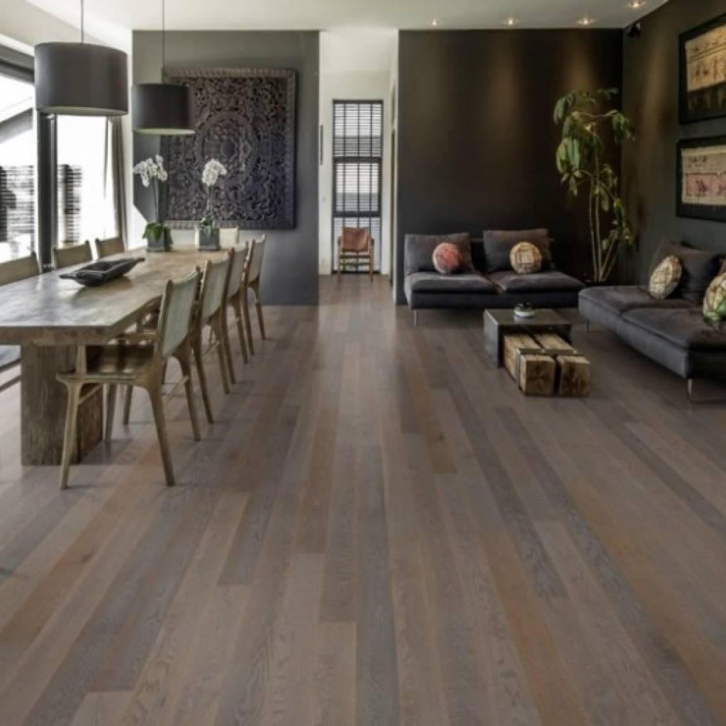 Podłoga drewniana Dąb Carbon