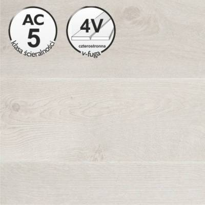 Panele podłogowe   Oak Natur White